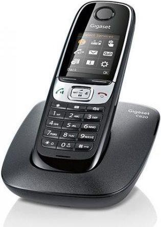 Siemens Telefono Cordless, Nero Gigaset