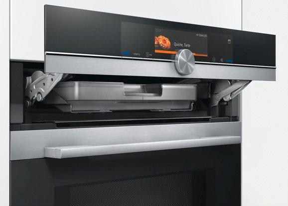 Siemens forno elettrico da incasso ventilato multifunzione con grill capacit 67 litri classe - Forno con microonde integrato ...