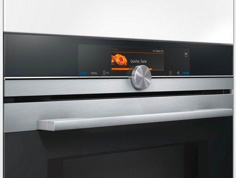 Siemens forno elettrico da incasso ventilato multifunzione con grill capacit 67 litri classe - Forno elettrico con microonde integrato ...