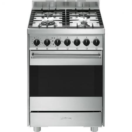 Cucina a gas smeg b6gmxi9 forno elettrico ventilato 60x60 prezzoforte 104874 - Smeg cucina gas ...