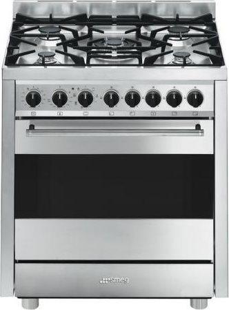 Cucina a gas smeg b7gmxi9 forno elettrico ventilato 70x60 prezzoforte 109981 - Cucina smeg 5 fuochi ...