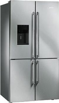 frigorifero smeg frigo americano side by side no frost fq75xped in offerta su prezzoforte 66492. Black Bedroom Furniture Sets. Home Design Ideas