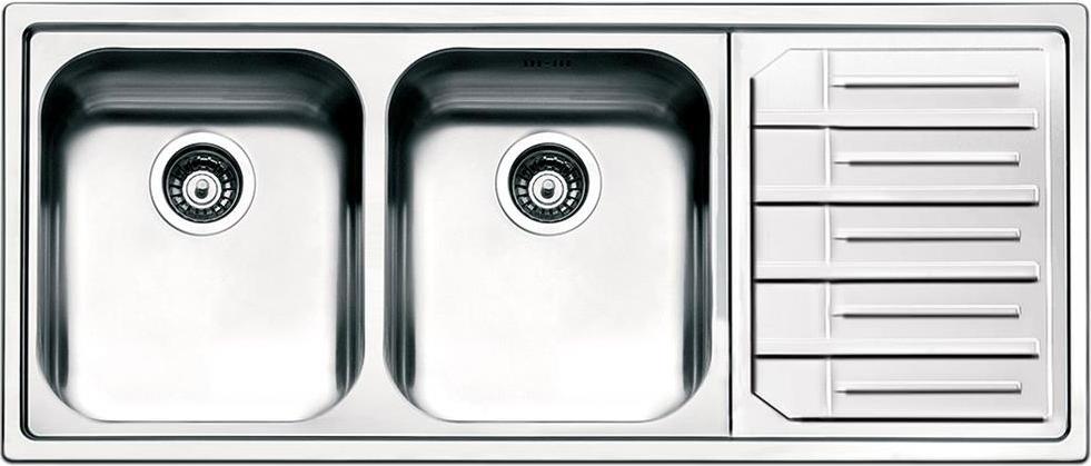 Lavello Cucina Smeg LPE116S 1 Vasca Inox Prezzoforte - 98991