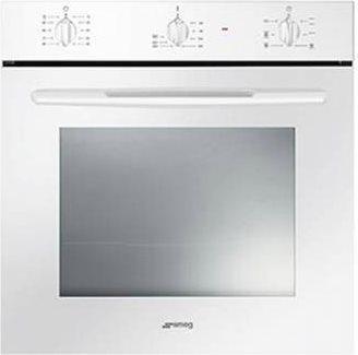 Forno Elettrico da Incasso Ventilato Multifunzione con Grill Capacità 61  Litri Classe energetica A Larghezza 60 cm colore Bianco - SF561B Serie ...