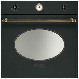 Forno smeg sf800ao estetica coloniale forno da incasso elettrico ventilato con grill - Forno elettrico smeg da incasso ...