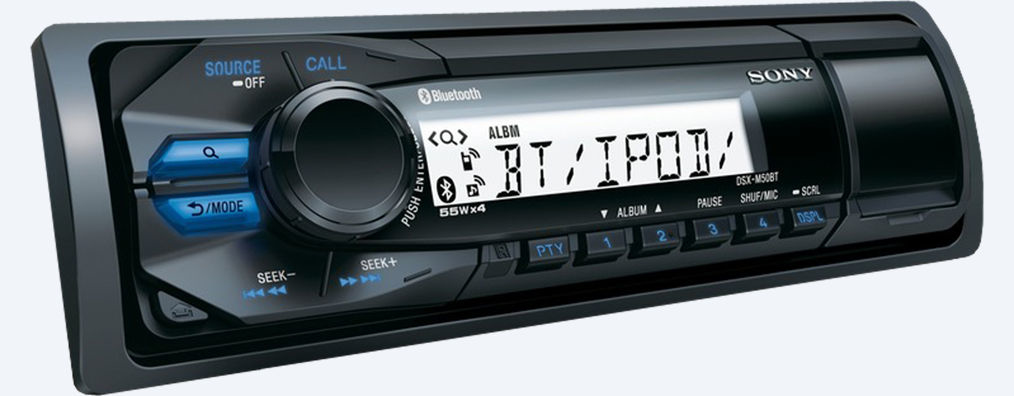 autoradio bluetooth sony stereo auto dsx m50bt prezzoforte 96063. Black Bedroom Furniture Sets. Home Design Ideas
