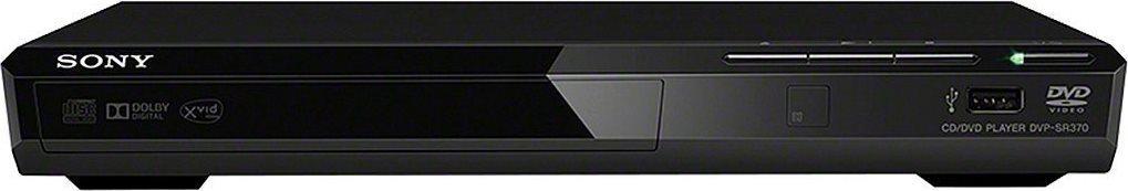 Sony Lettore DVD Riproduzione Multiformato USB Mp3 CD Nero - DVP-SR370B