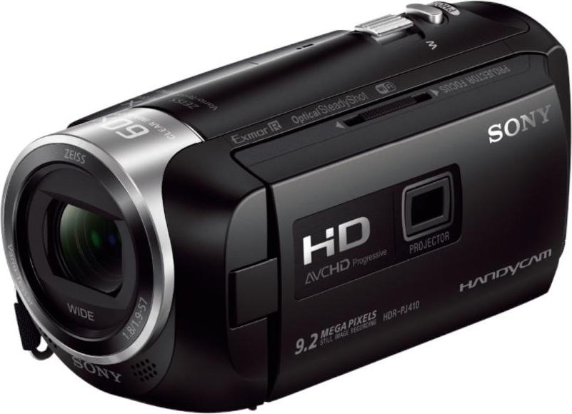 Sony Videocamera digitale Full HD Proiettore Integrato PJ410 - HDR-PJ410