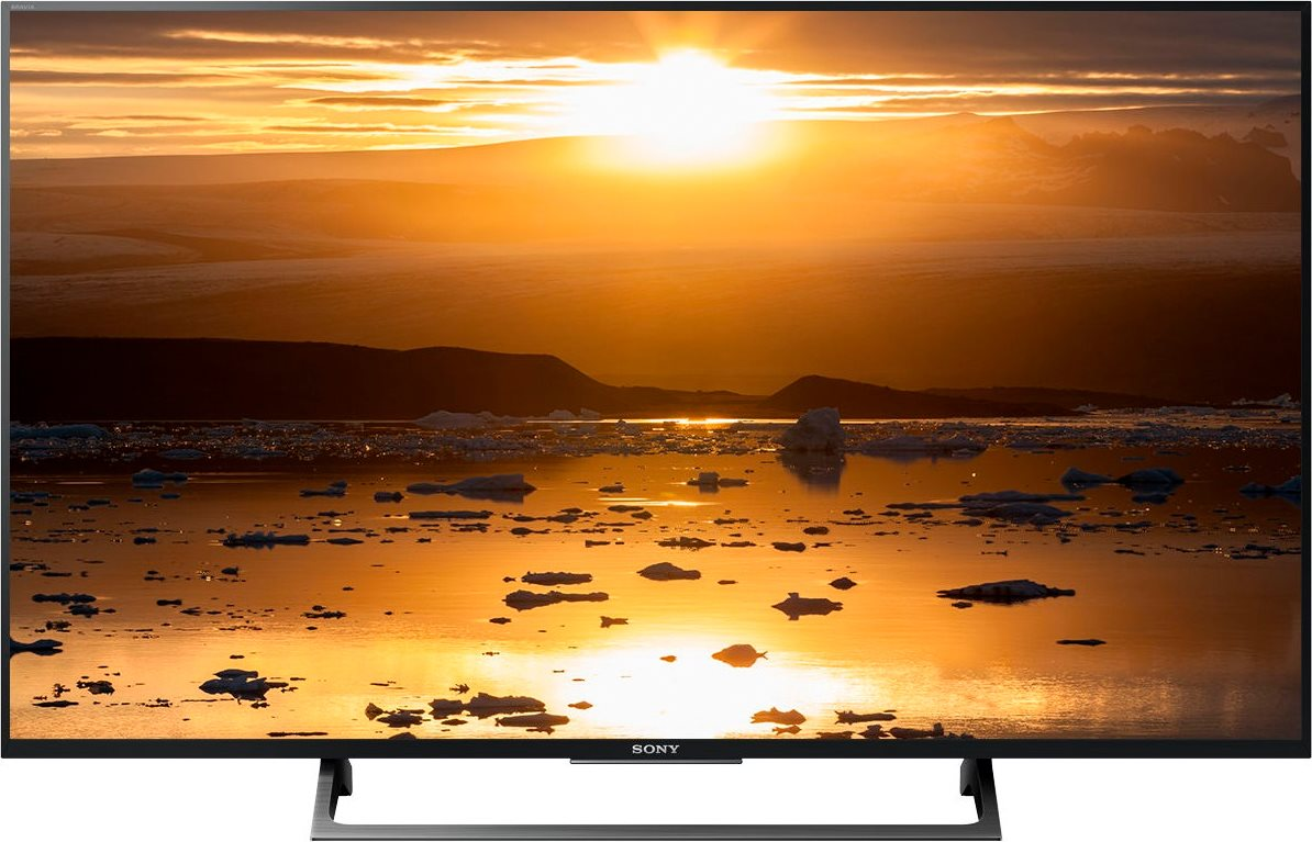 TV LED 49 pollici 4K Ultra HD HDR Digitale Terrestre DVB T2 / S2 Smart Tv  Opera TV Store Miracast Mirroring Wifi - KD-49XE7096 Bravia ( Garanzia