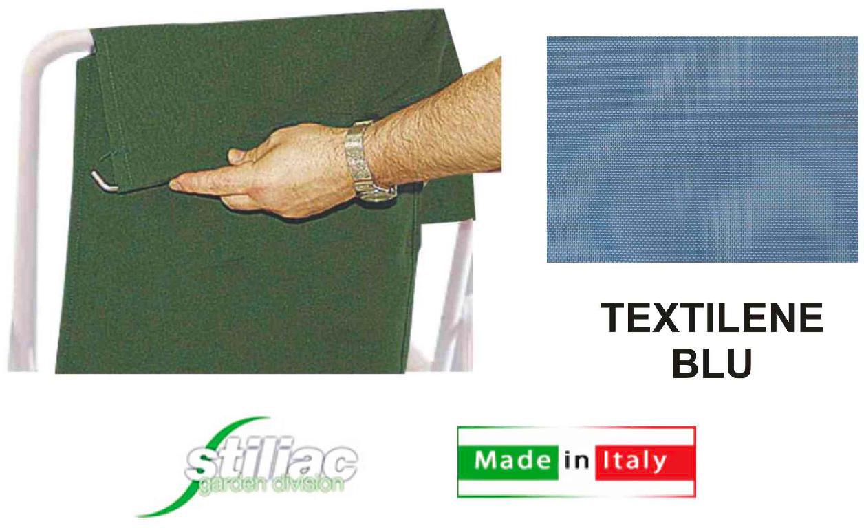 Stiliac ST7200 Telo per Dondolino Swing Blu Melange