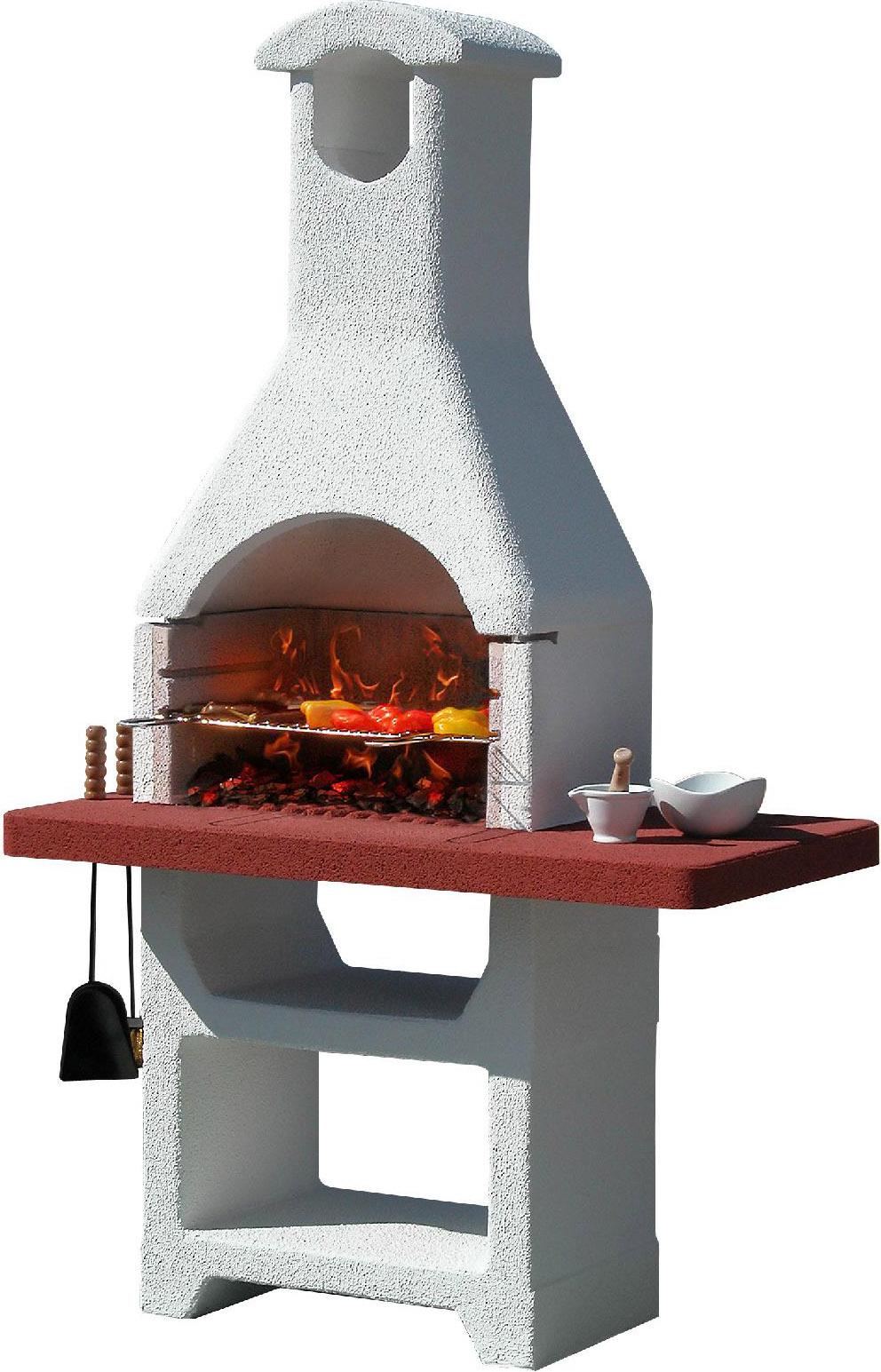 Sunday grill barbecue in muratura con cappa bbq griglia for Barbecue sunday