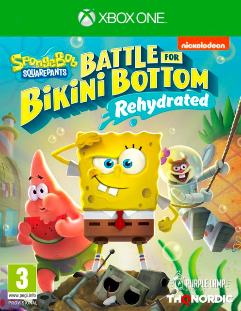 THQ Nordic 1035985 Videogioco Sw XB1 Spongebob: Battle For Bik