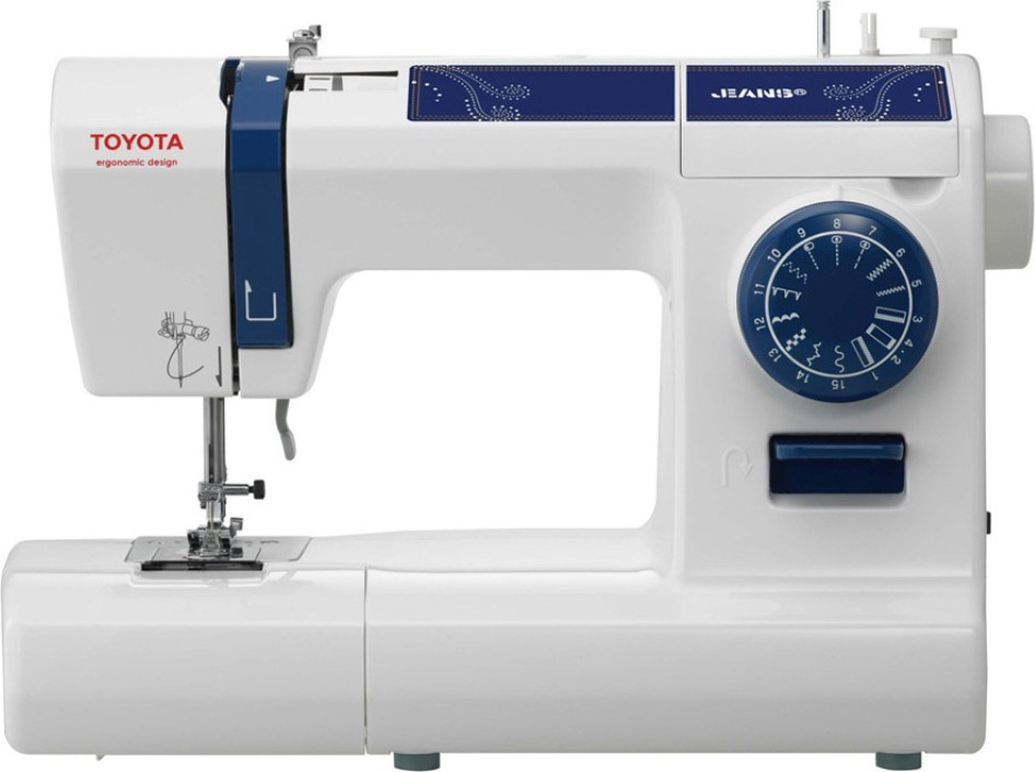 Toyota macchina da cucire meccanica 15 punti funzione for Macchina da cucire toyota