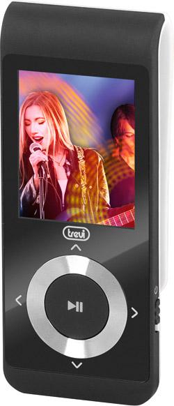 """TREVI Lettore Mp3 Mp4 Sport Display 1.8"""" MicroSD 4 gb Bianco MPV 1728 SD"""