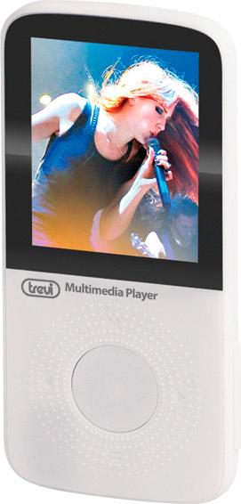"""TREVI Lettore Mp3 Mp4 Sport Display 1.8"""" MicroSD 8 gb Bianco MPV 1745 SD"""