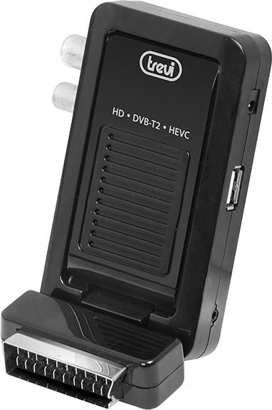TREVI Decoder Digitale Terrestre HD Scart HDMI con telecomando HE 3348 SC