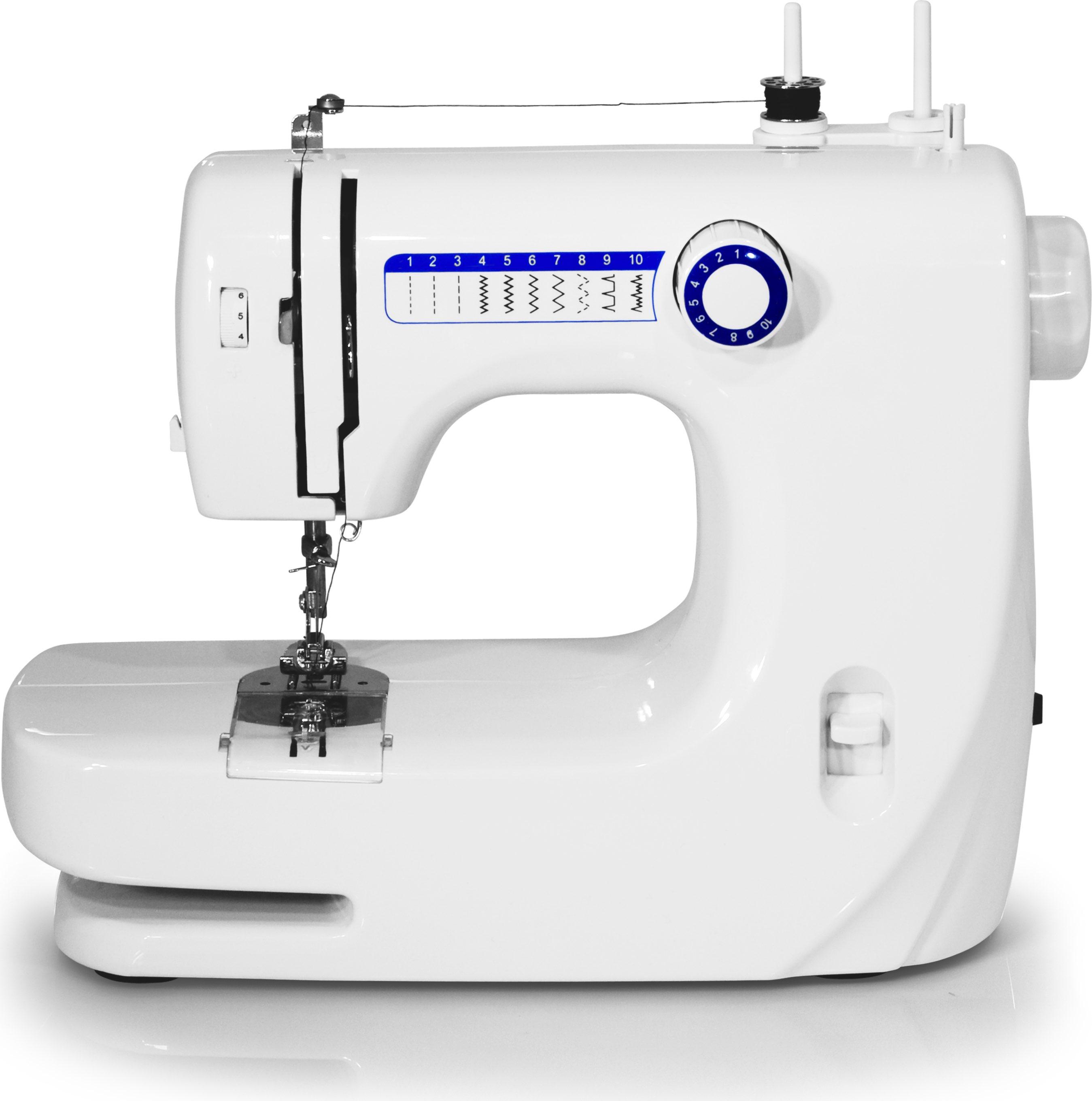 Tristar macchina da cucire automatica 10 operazioni con for Porta bobina macchina da cucire