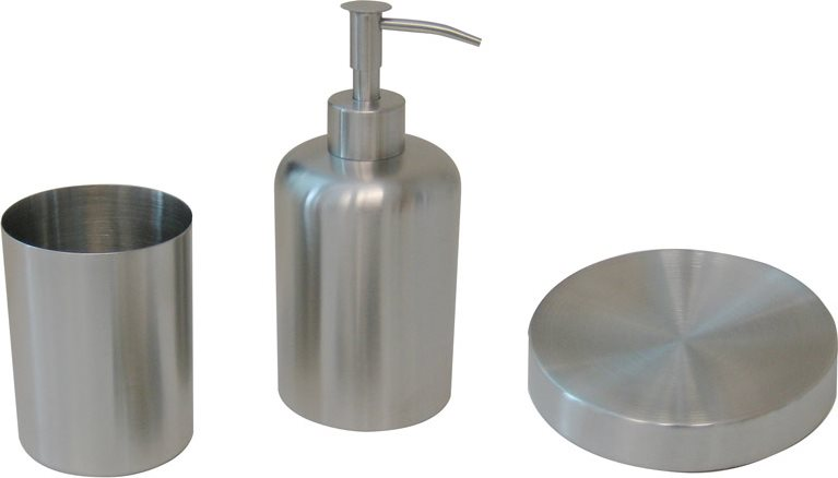 Tata linda accessori bagno set 3 pezzi: dispenser sapone