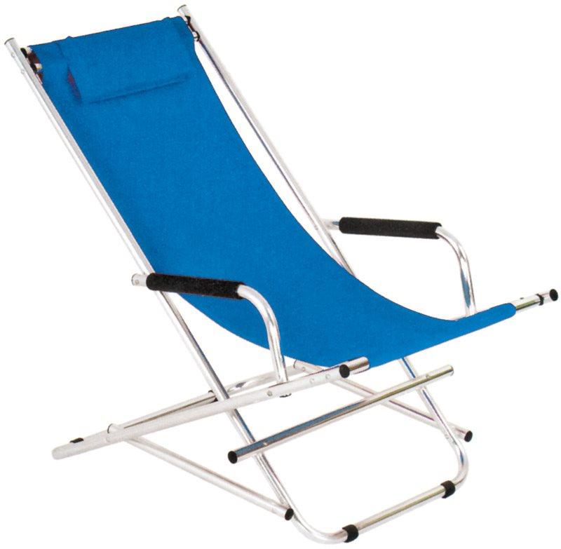 Sedie E Sdraio Da Esterno.Sdraio Da Giardino Pieghevole Barbados Sdraio Blu Arredo Giardino