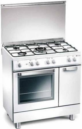 Tecnogas cucina a gas 5 fuochi forno elettrico larghezza x profondit 80x50 cm classe energetica - Cucina a gas tecnogas ...