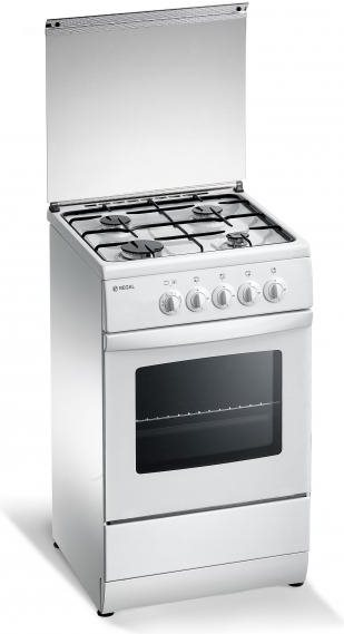Regal By Tecnogas Cucina A Gas 4 Fuochi Forno Elettrico