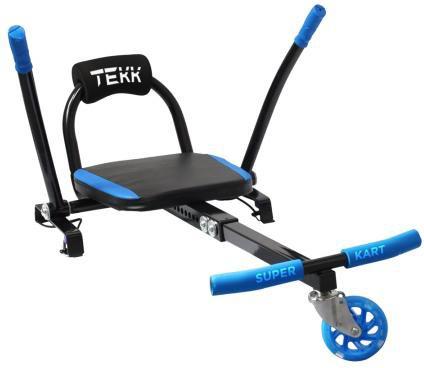 Tekk Accessorio Hoverboard due ruote Mini Kart con Schienale - KART