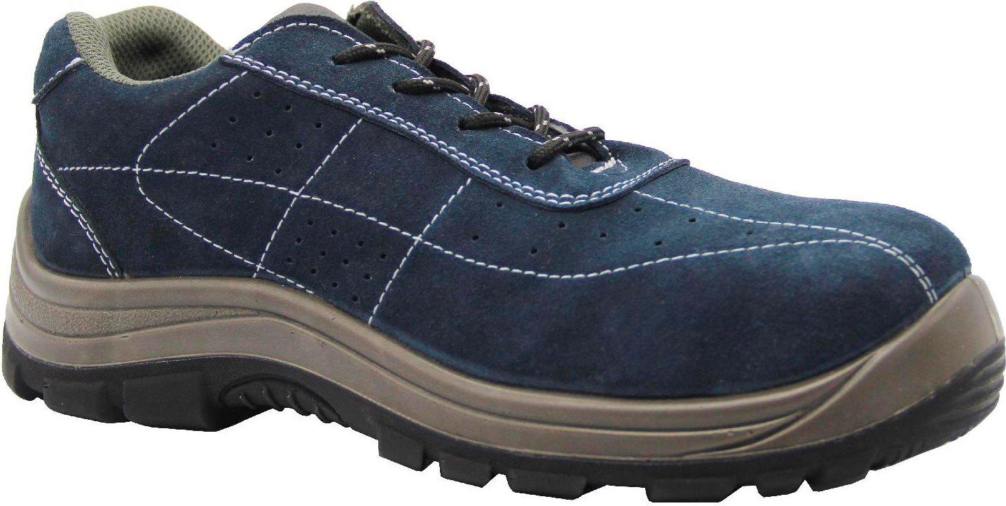 Scarpe Antinfortunistiche da Lavoro Basse Tomaia in Camoscio e Antiforo Classe S1P SRC Taglia 42 colore Blu S16053 1 Wind