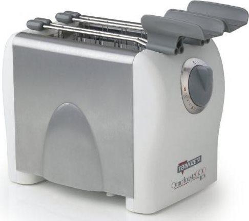 termozeta tostapane  Termozeta Tostapane 2 Fette Potenza 500 Watt 5 Livelli di Cottura ...