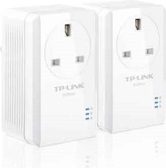Tp-Link Adattatore di Rete Powerline AV500 NANO - TL-PA4020KIT