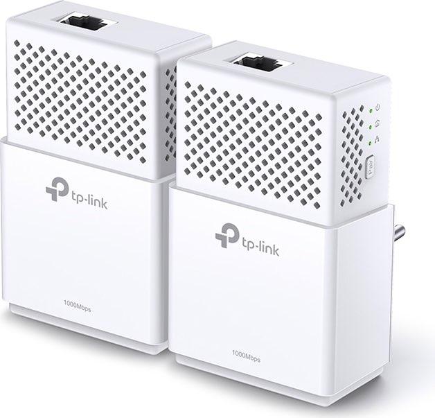 Tp-Link Powerline Adattatore di Rete Ethernet 1000 Mbits Max 300 m TL-PA7010KIT