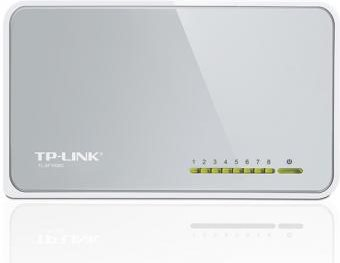Tp-Link TL-SF1008D Hub Switch Rete 8 Porte 10100