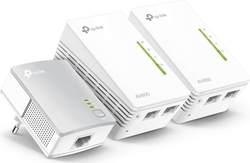 Tp-Link Starter Kit Powerline 2 pezzi Wifi N AV500 TL-WPA4220 TL-WPA4220TKIT