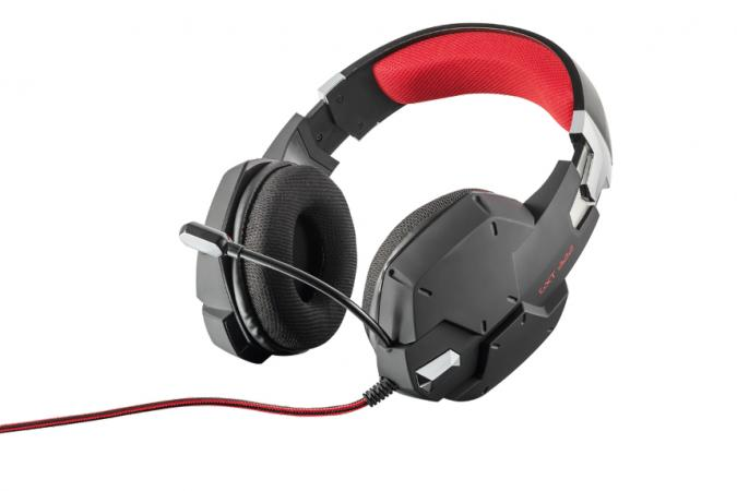 Trust Cuffie microfono pc console ps4 xbox one gaming ad archetto GXT 322 20408
