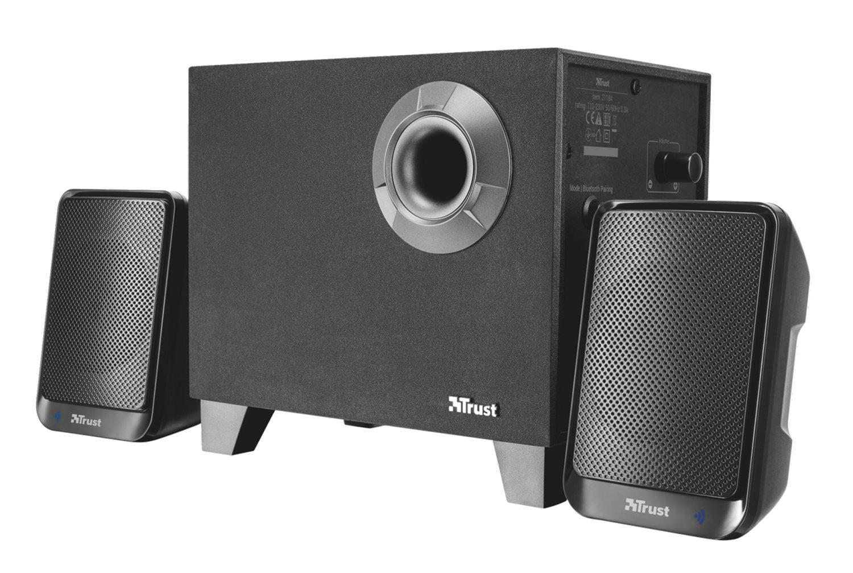 Trust casse per pc wireless 2 1 bluetooth senza fili con - Stereo casse wireless ...