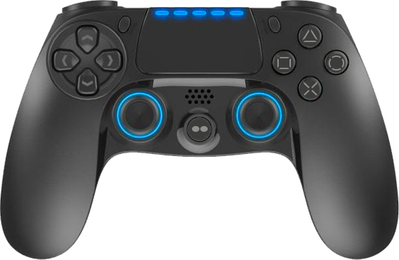 TWO DOTS TDGT0075 JoyStick GamePad Wireless PadPro 4 Evo colore Nero TDGT-0075