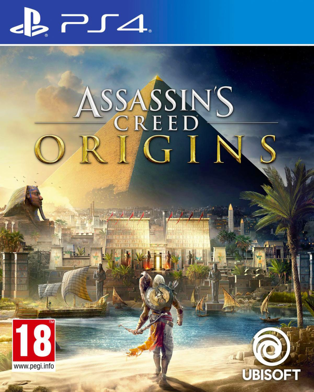 UBISOFT 95034 Videogioco per PS4 Assassins Creed Origins AzioneAvventura 18+