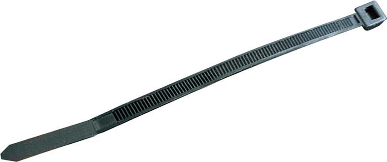 Utilia Fascette plastica in Nylon 140x2,5 mm Confezione 100 pezzi Nero 18536