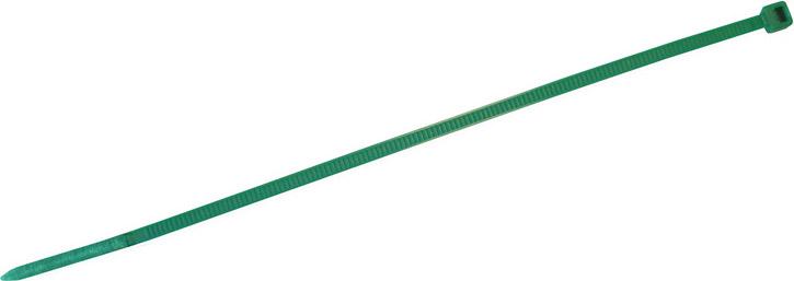 Utilia Fascette plastica in Nylon 500x7,5 mm Confezione 100 pezzi Verde 39289