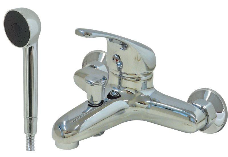 Miscelatore Vasca Da Bagno : Utilia miscelatore doccia vasca da bagno monocomando con soffione