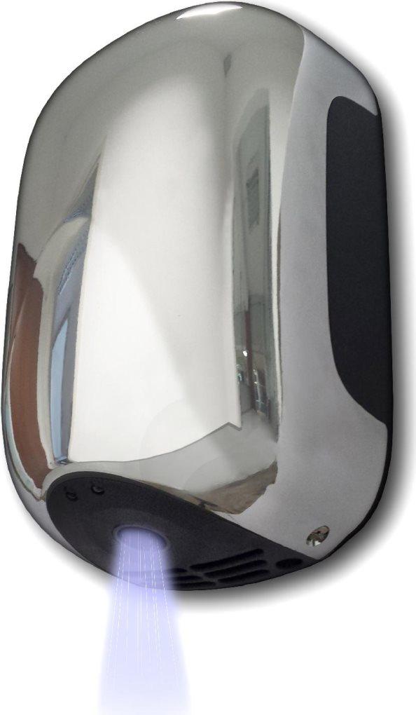 VAMA Asciugamani elettrico Asciuga mani Aria 900W 15,6x10x23,8h  SMARTJETCROMATO