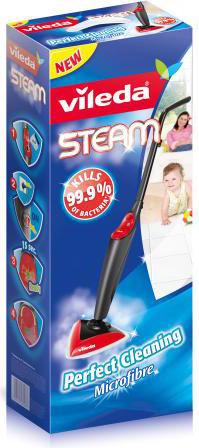 Vileda scopa a vapore lavapavimenti pulitore a vapore for Vileda scopa elettrica ricambi