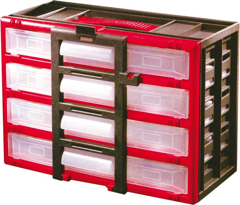 Vipa Porta Minuteria 4 Cassetti in Plastica estraibili 20 scomparti Tidy 396