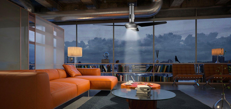 Vortice ventilatore da soffitto con luce e telecomando 3 for Lampadario a pale brico
