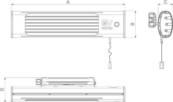 Stufa elettrica infrarossi vortice 70015 prezzoforte - Stufa elettrica basso consumo ...