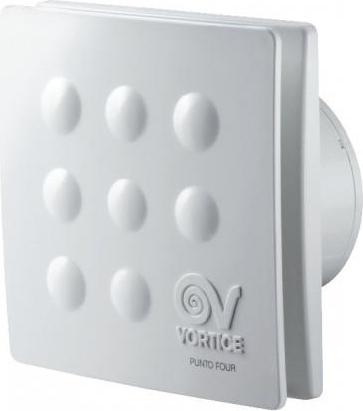 Vortice aspiratore elicoidale da muro 10cm punto four - Aspiratore bagno umidita ...