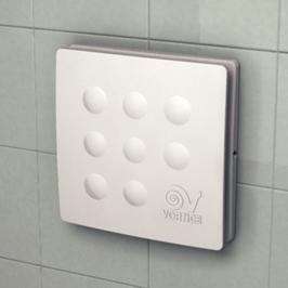 Vortice aspiratore elicoidale da muro 10cm punto four - Aspiratore per bagno silenzioso ...