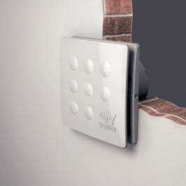 Vortice aspiratore elicoidale da muro 10cm punto four potenza watt 18 portata aria 90 mc h - Vortice aspiratore bagno ...