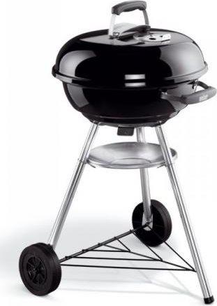 WEBER Barbecue Carbonella Carbone da giardino BBQ Ø 47 1221004 Compact Kettle