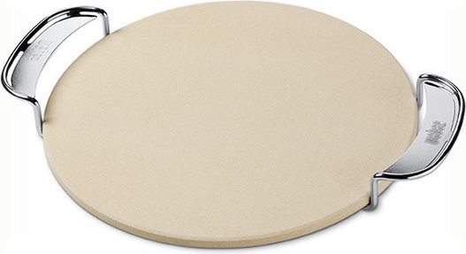 WEBER 8836 Pietra refrattaria Pizza per Barbecue Gourmet BBQ System col Beige
