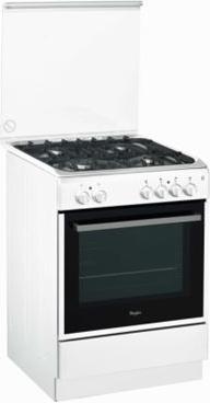 Cucina a gas whirlpool acmk 6333 wh forno elettrico ventilato 60x60 prezzoforte 96028 - Forno ventilato whirlpool ...